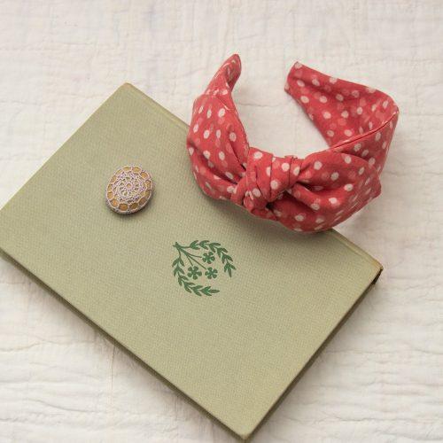 Raspberry cane on book