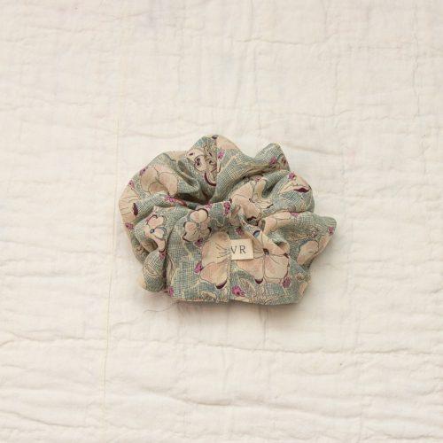 liberty silk scrunchie