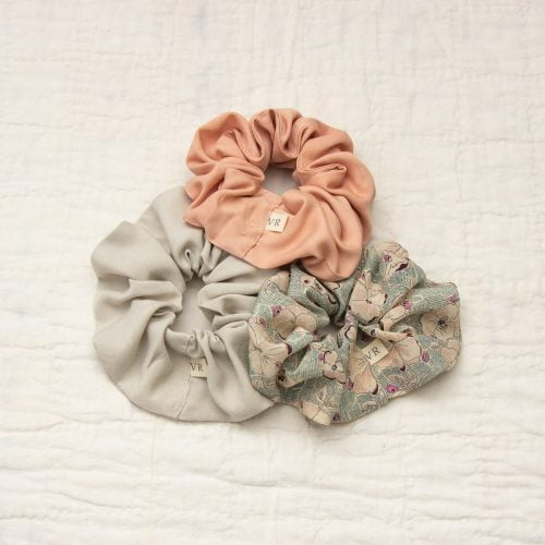pile of scrunchies